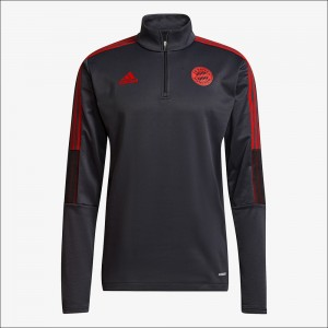 MANCHES LONGUES GRIS FC BAYERN WARM TOP